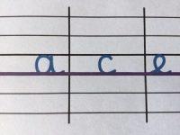 La taille des lettres