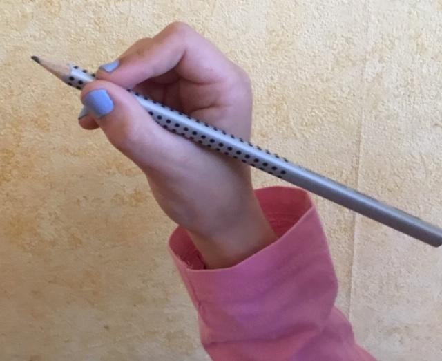 La tenue du crayon